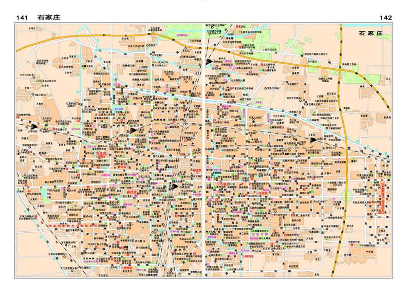 中国分省系列地图册 河北省地图册