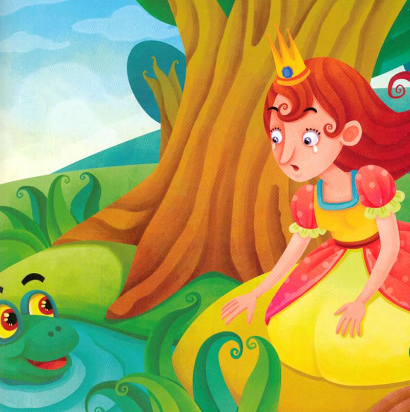 听童话故事学少儿英语系列 青蛙王子