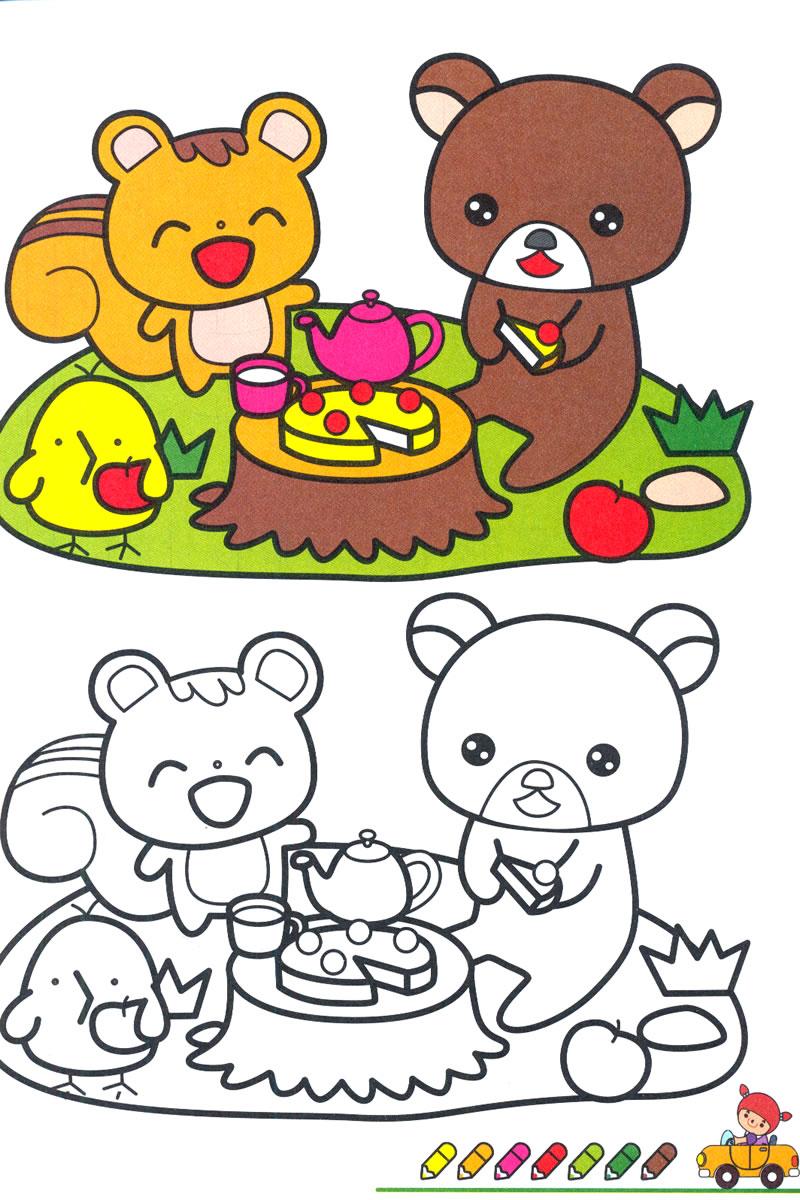 宝宝涂色2-6岁选什么牌子好 儿童涂色画2-3-6岁宝宝涂色填色同款好推荐