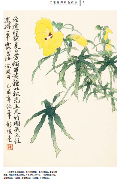 毕彰老师讲国画 工笔花卉设色技法
