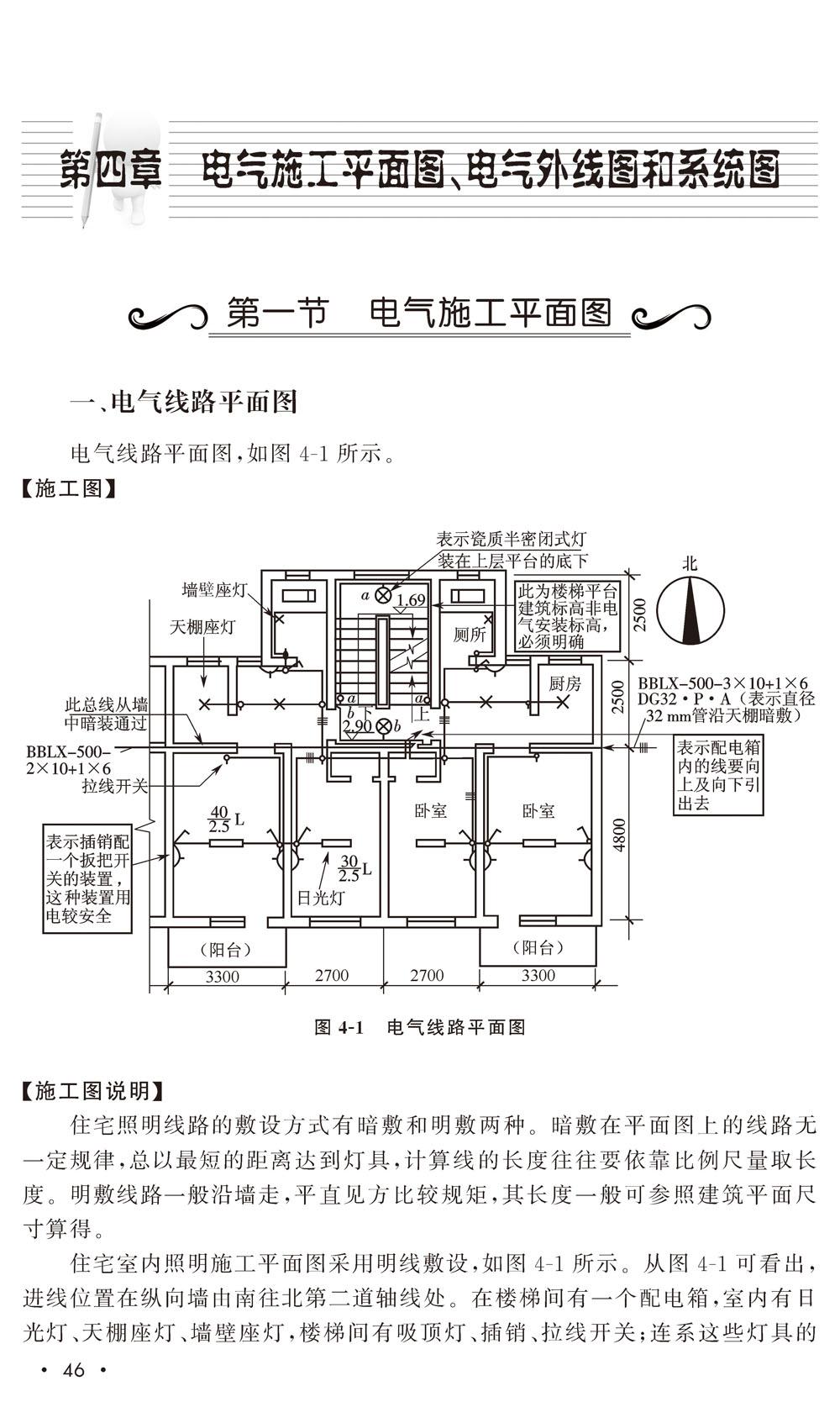 建筑电气工程施工图 梁瑶