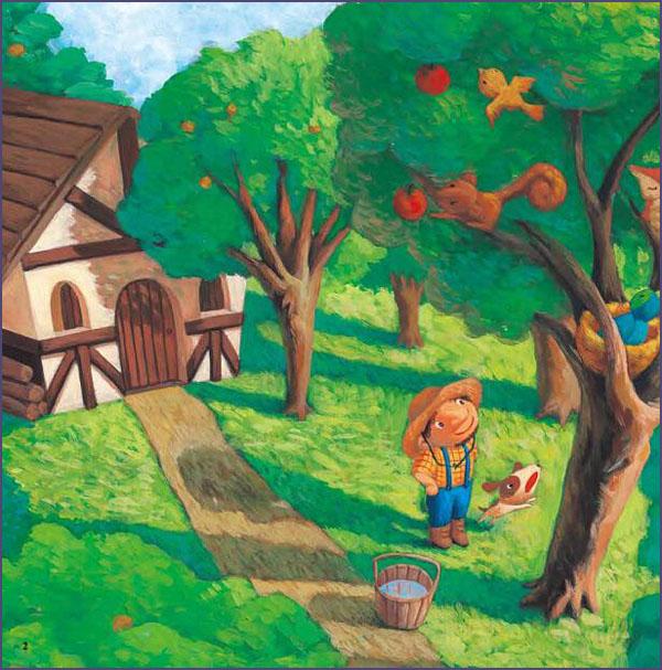 儿童画动物捉迷藏