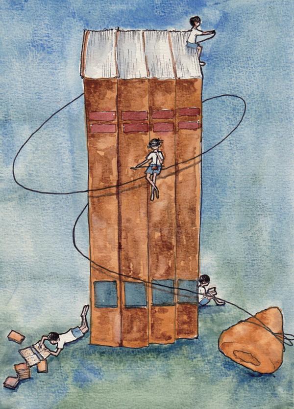 长大的著名音乐人秦文琛的故事随笔集,六十篇故事,六十张手绘插图,二