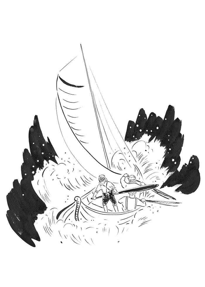 躺在圣马丁山下海底深处的戒指,还有至今仍然躺在复活岛的洞穴中等候