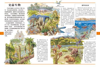 动物百科全书思维导图