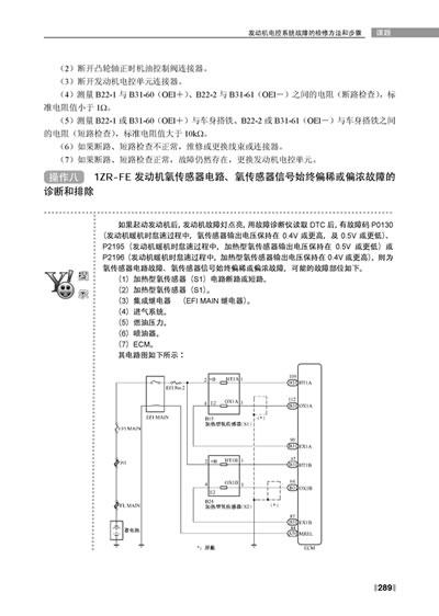 卡罗拉水温传感器电路图