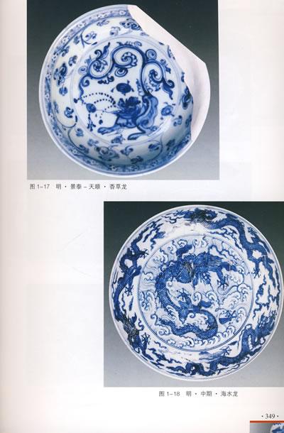 中国青花瓷纹饰图典图片大全