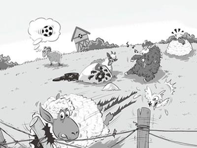 倔小孩动物小说:战羊之旅2 羊勇士西征记