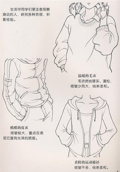 服装设计图步骤画法