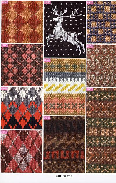 《棒针编织花样1000例/手工坊毛衣编织图典系列》