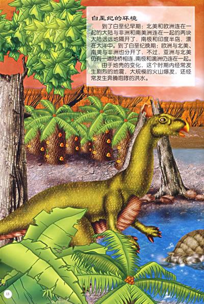 随书赠送形态各异恐龙贴画和vcd光盘. 目  录 什么是恐龙?
