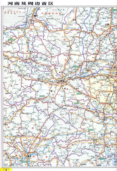 公路地图;高速公路