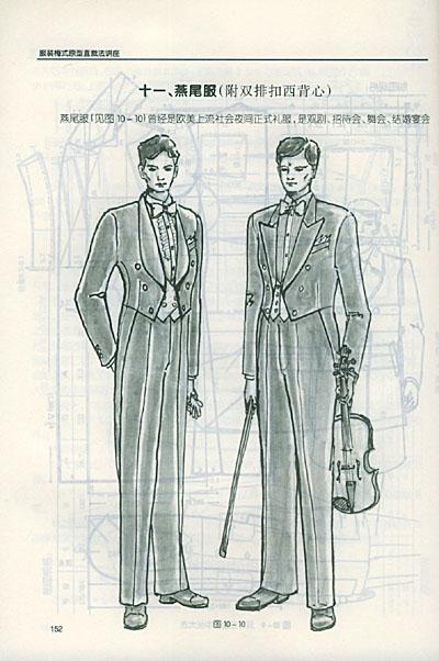 服装版型设计新法——非立体裁表皮法