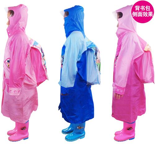 儿童火车头书包雨衣