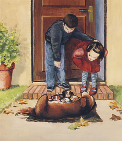 《我的动物朋友系列第二辑⑤:狗(注音版)》(