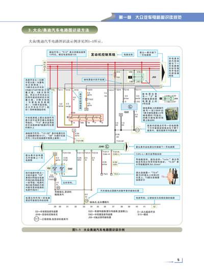 轻松看懂大众汽车(中高档)电路图(轻松看懂电路