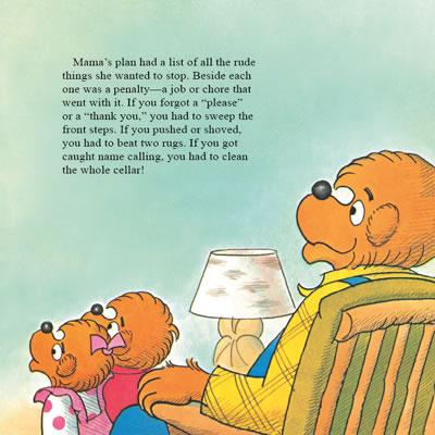 贝贝熊双语阅读系列第一辑礼貌待人美式英语亲子共读-分级阅读第一图片