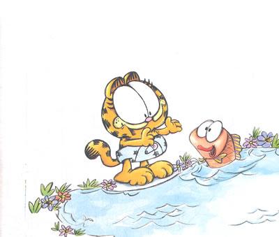 《加菲猫启智绘本(套装共10册)》((美)戴维斯 著)图片