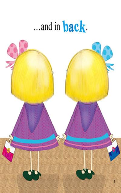 singsing英语--可爱的双胞胎(套装全5册附dvd,赠送图章)
