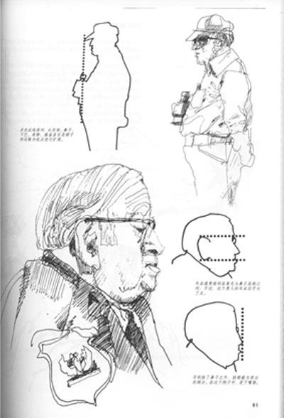 《素描的诀窍(经典版)》(〔美〕伯特·多德森.)图片