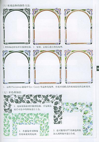 边框纹样的制作方法与步骤