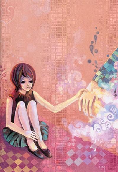 青春小说封面素材横版