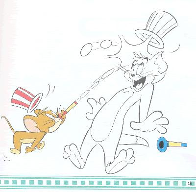 猫和老鼠绘画馆追逐大战学画画/23237847图片