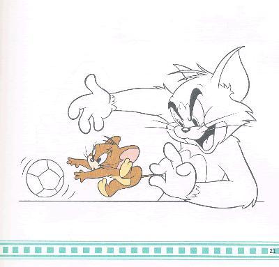 猫和老鼠绘画馆·追逐大战(学画画)