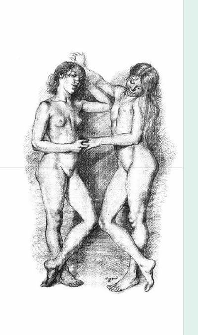 8   解剖与人物造型艺术(代序) 前言 第一章 解剖概观  男人体,正面