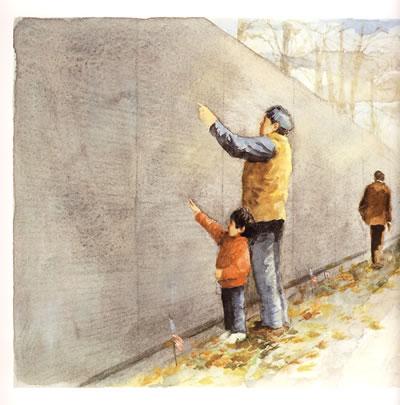 爷爷的墙图片