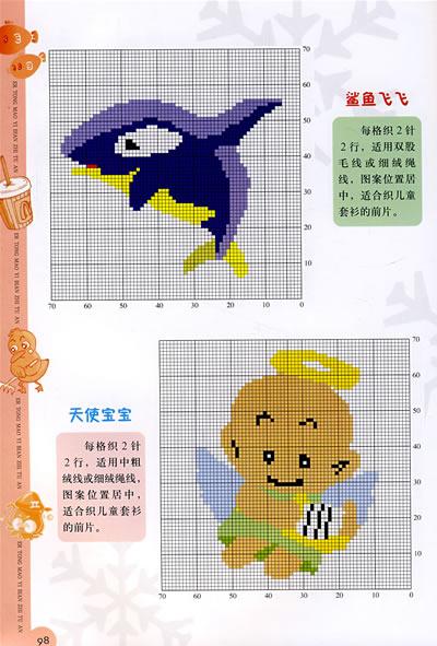 本书汇集了多款*款式的儿童毛衣,每款毛衣都很精美,集卡通,动物,人物