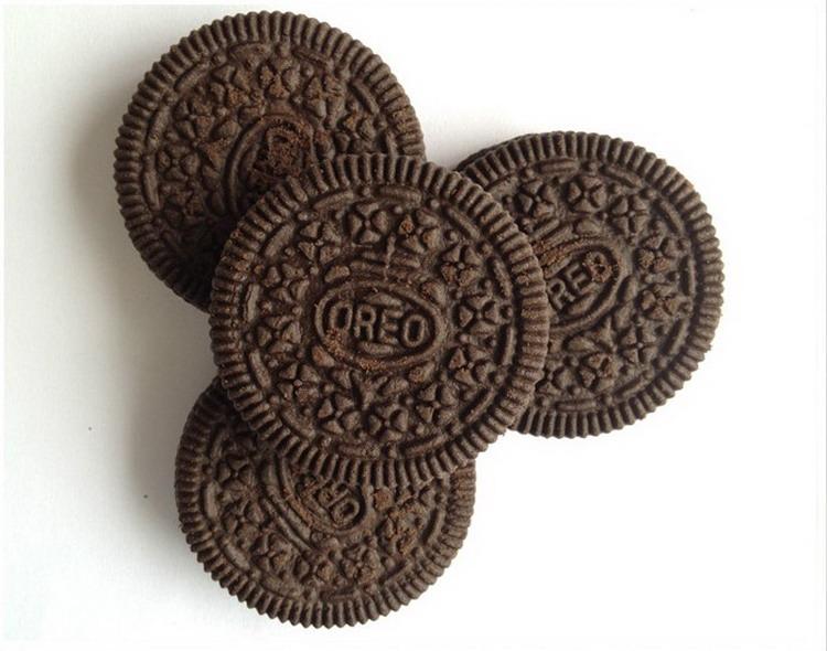 饼干黑白矢量图素材