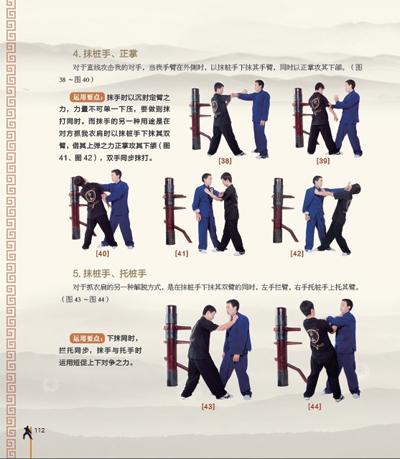 咏春的歌谱-咏春拳图解 咏春拳谱157式图 咏春拳基本功图解