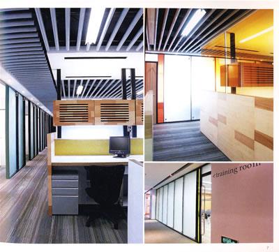 中等面积办公室(全球华人最佳室内设计作品选)