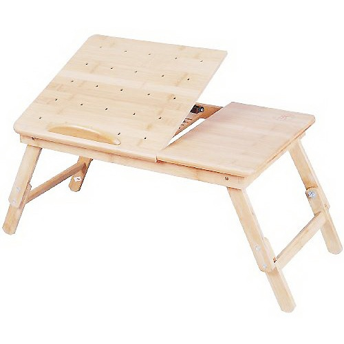 美好家 楠竹加高散热床上电脑桌